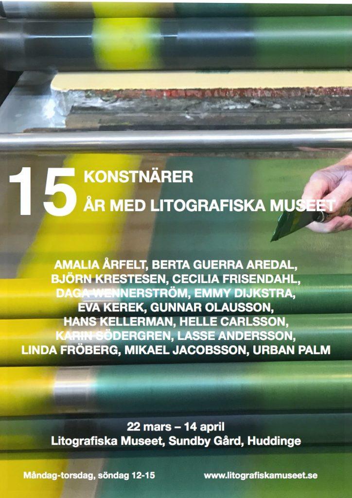 LM-15 konstnärer affisch