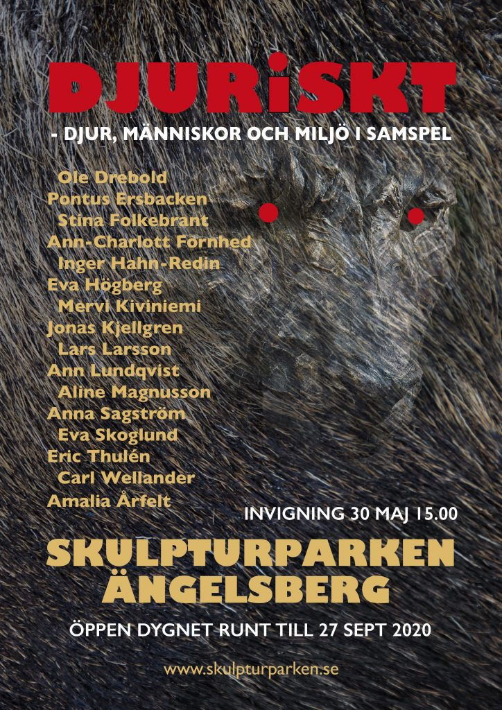 affisch skulpturparken