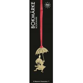 Bokmärke Lilla My Paraply Guld
