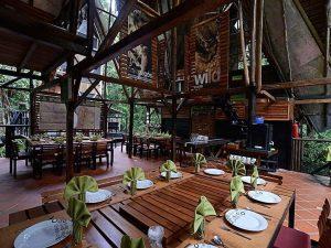 Dining room Jamu Amazon Lodge Ecuador