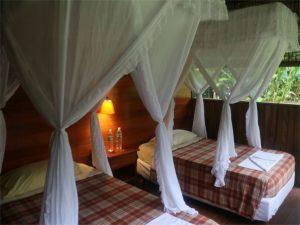Cabin in Cayabeno Amazon Lodge Ecuador