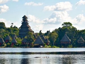 Rio Napo Wildlife Center Yasuni Amazon Ecuador