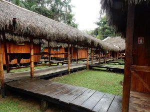 Cabins Siona Lodge Amazon tours Ecuador