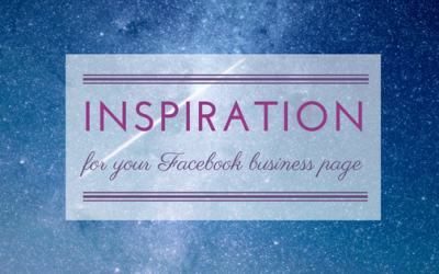 Content ideas for Facebook business pages