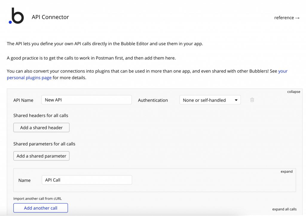 The Bubble API connector