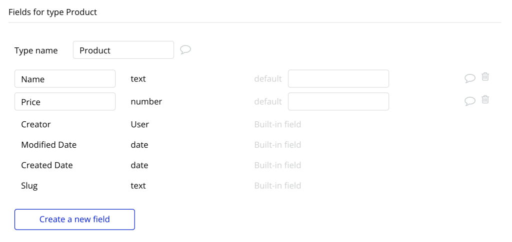 Adding fields to a Data Type in Bubble