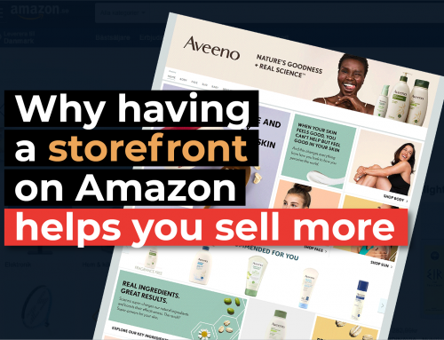 Storefront on Amazon helps you sell more