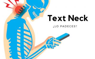 Cuello de texto Text Neck