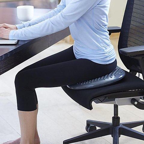 Cambia de silla al trabajar con el ordenador