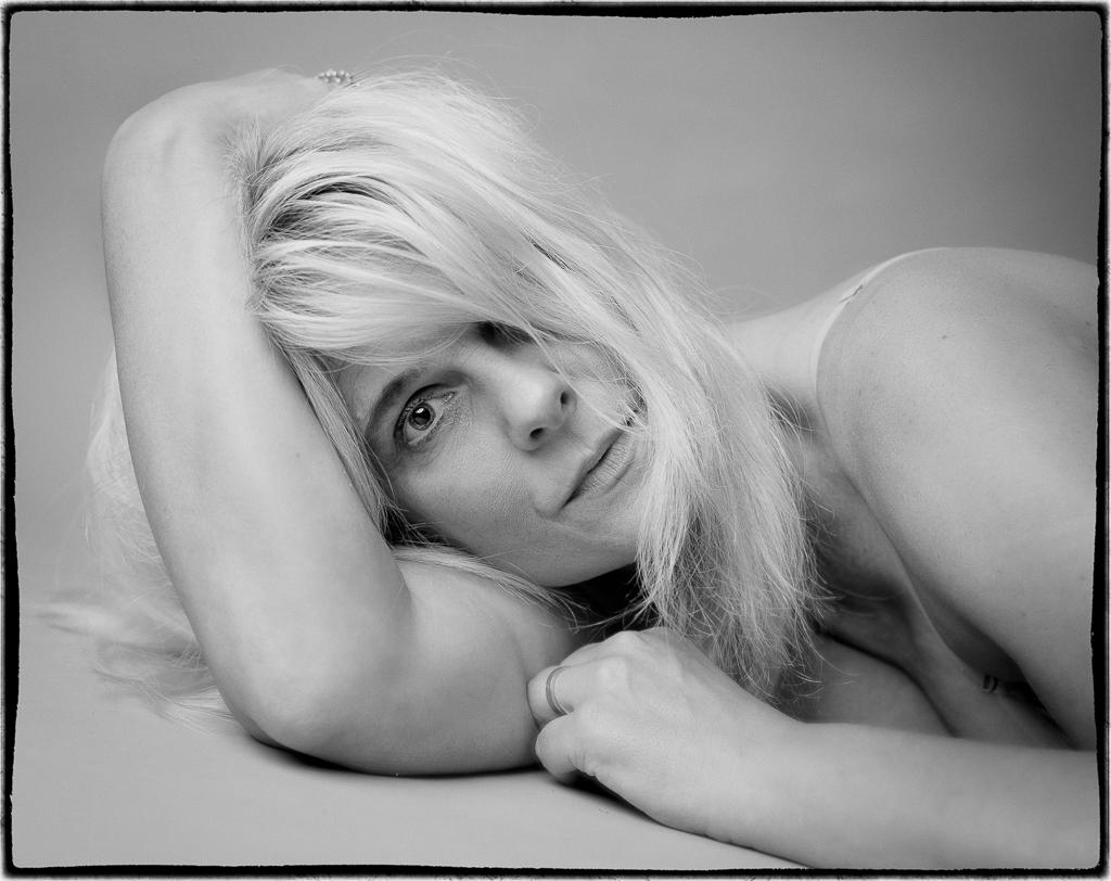 Porträttfoto a la 60-tal.