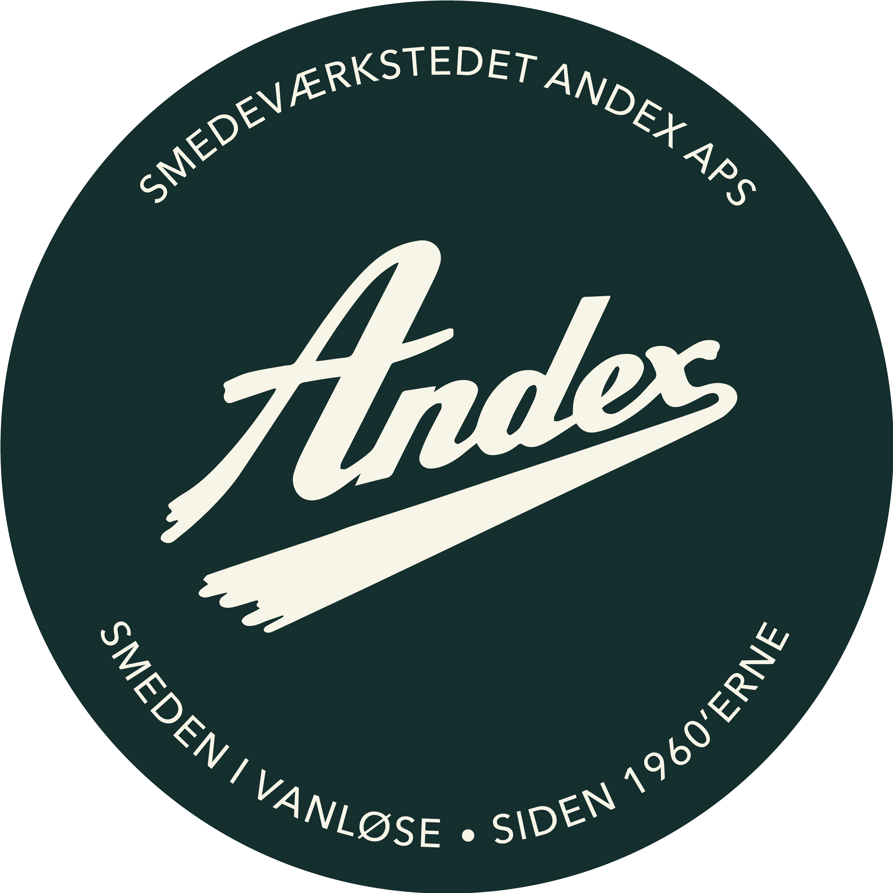 Smedeværkstedet, Andex, Smeden, Vanløse, Logo