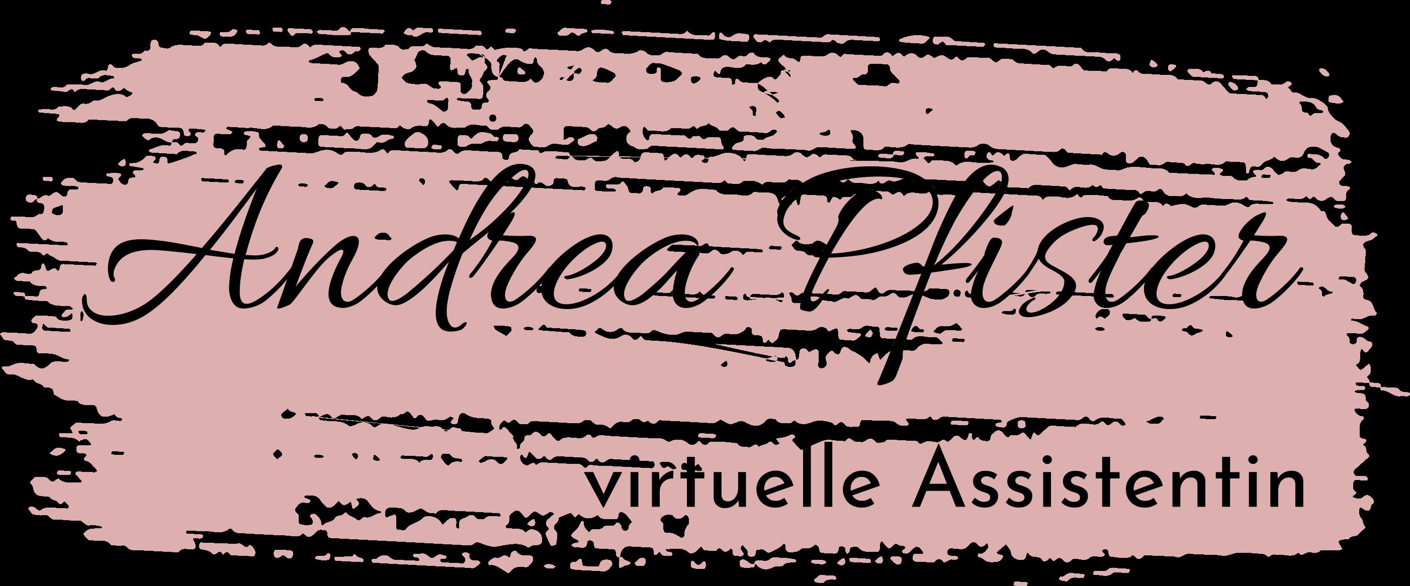 Andrea Pfister - Virtuelle Assistentin