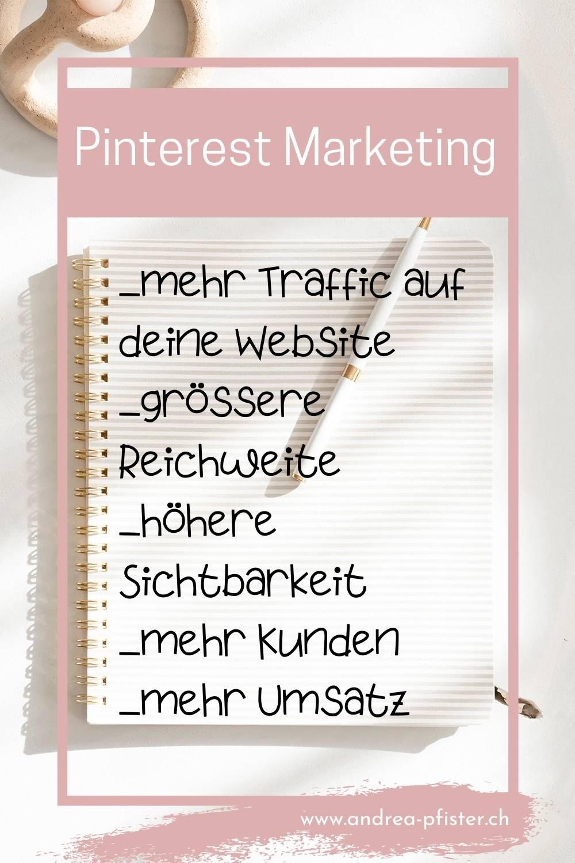 Gründe für Pinterest Marekting