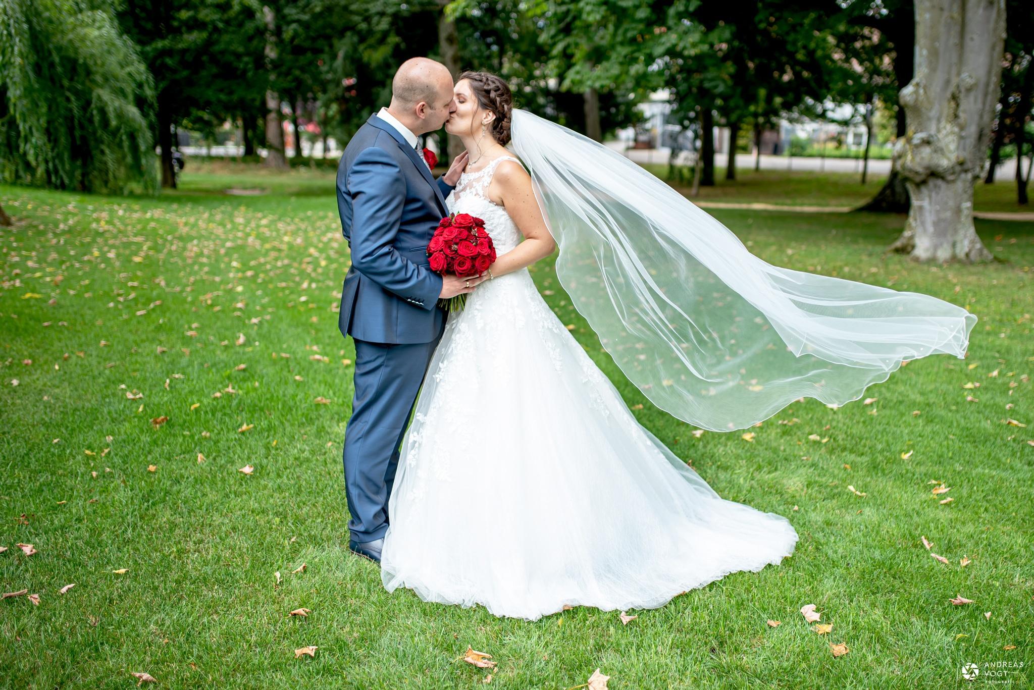 Fotoshooting Brautpaar in Aalen