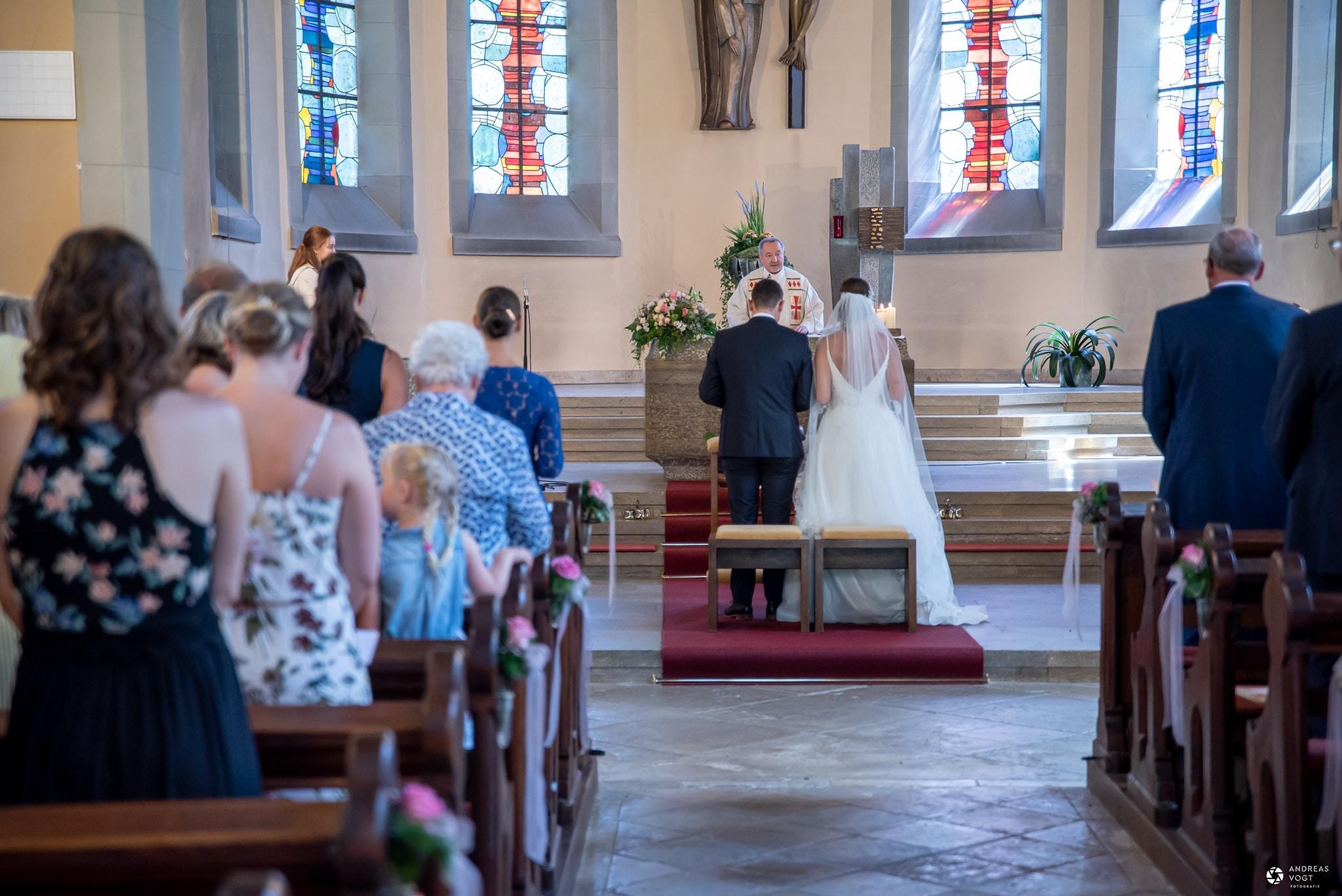 Kirchliche Trauung Fachsenfeld Nadine und Alex