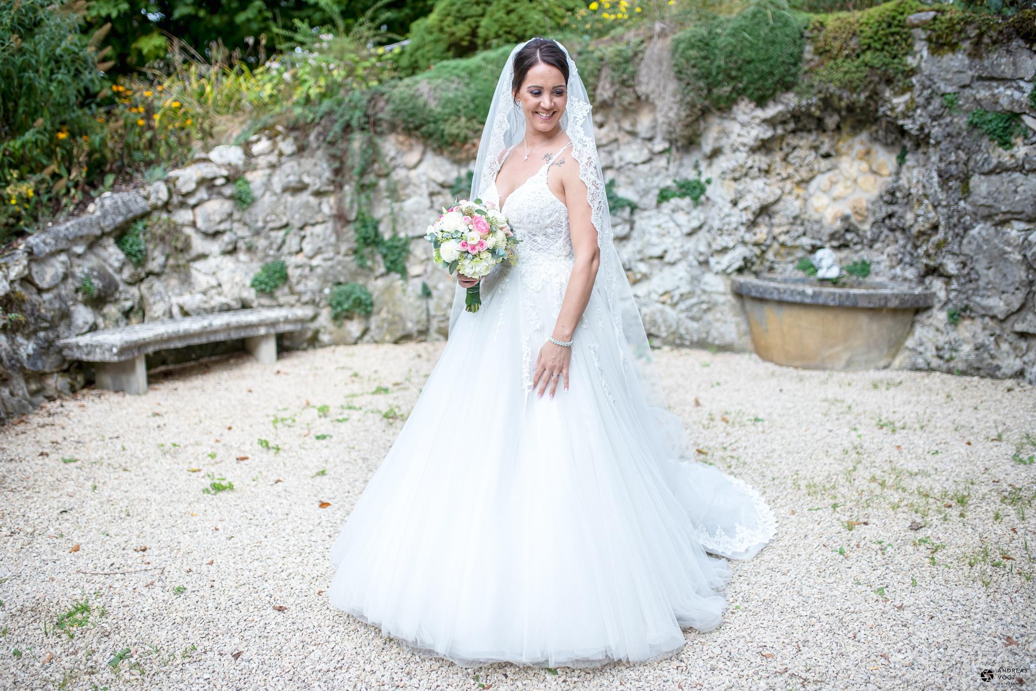 Fotoshooting mit der Braut