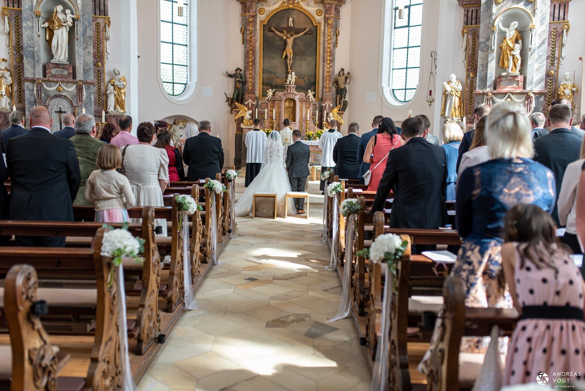 Kirchliche Trauung von Julia und Peter