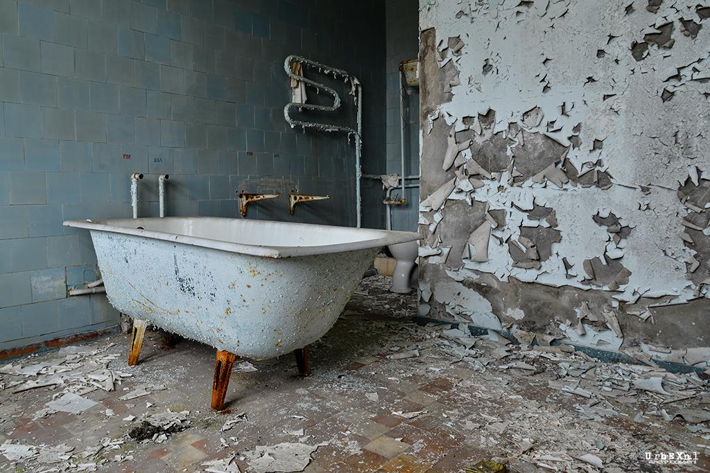 Chernobyl, Hospital bathroom