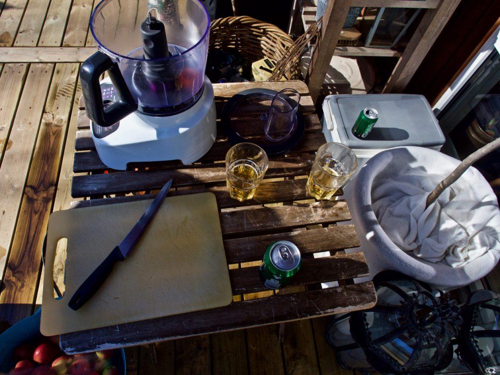 Æblemost, i vores Camilla Plum setup