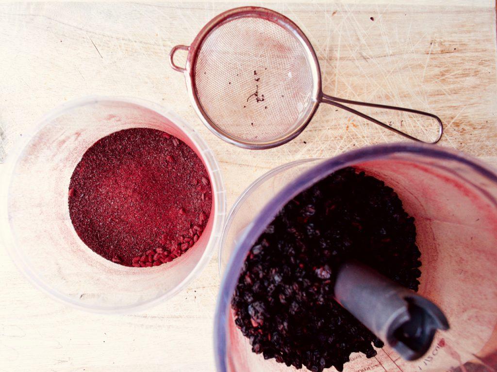 Hyldebær pulver