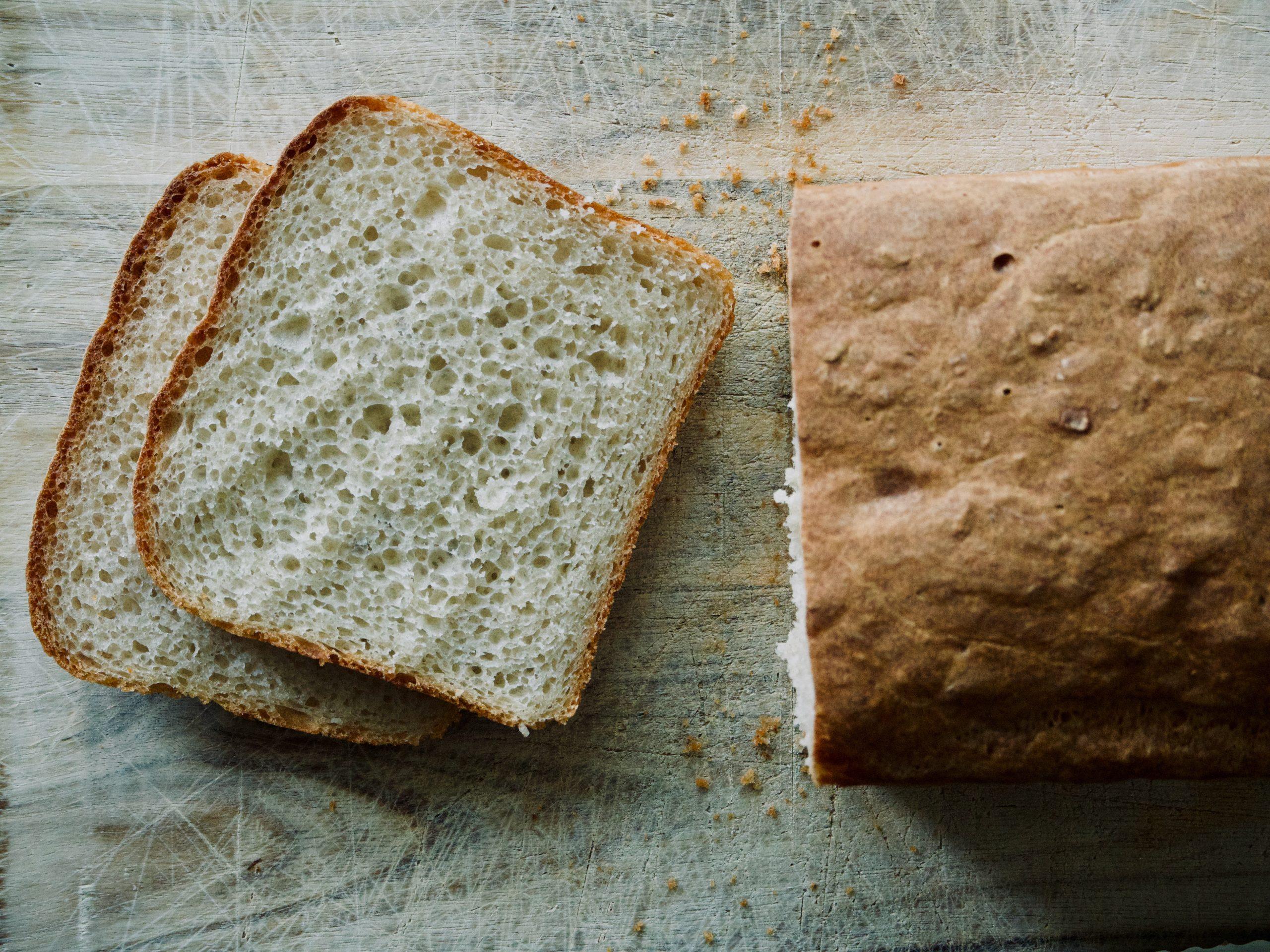 Sandwichbrød i skiver