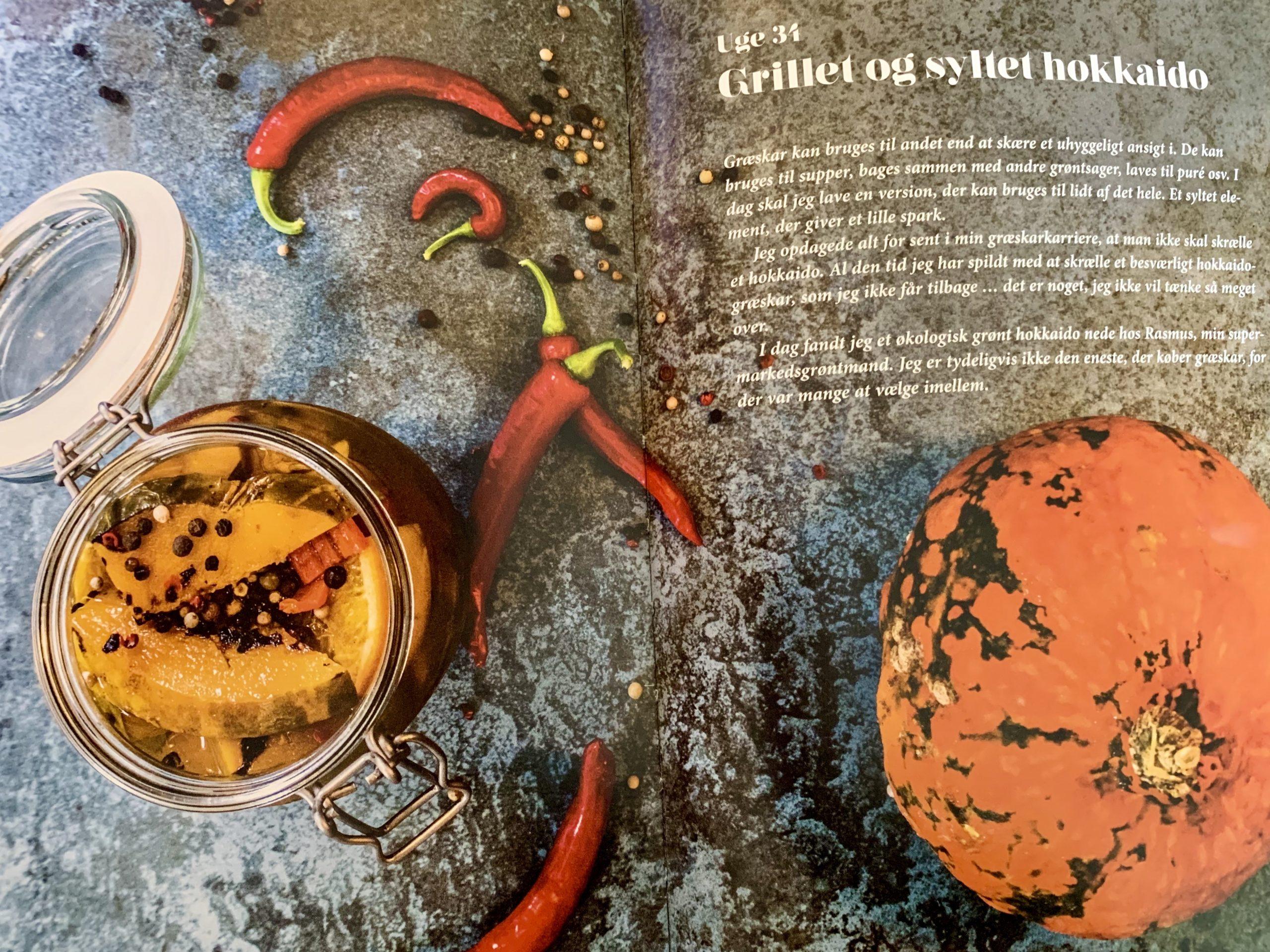 Opskrift på syltede græskar fra bogen På glas og flasker