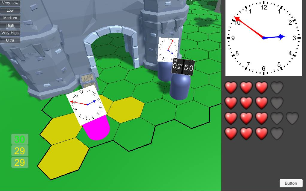 Clockfight (early image of Time to Tell Time)