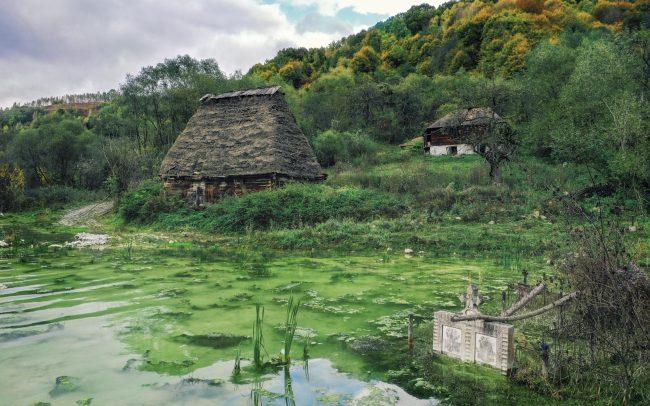 Der alte Friehof von Geamana
