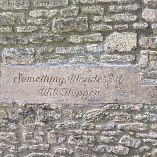 Something wonderful will happen