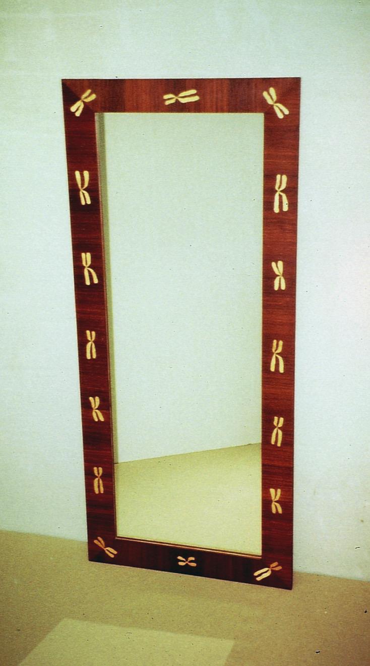 """1990 """"Kromosom"""", intarsiaspegel"""