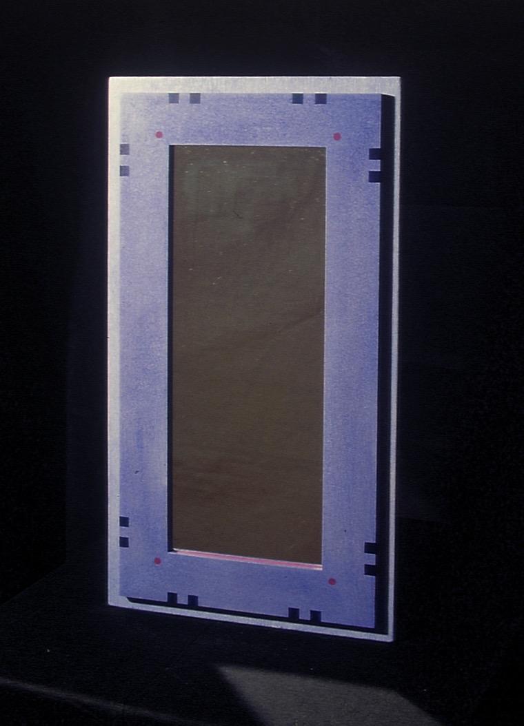 1994 Spegel med målat mönster