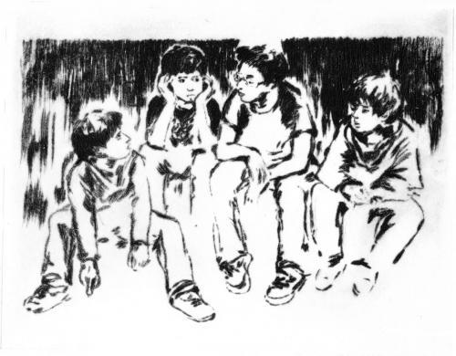 Quatre garçons