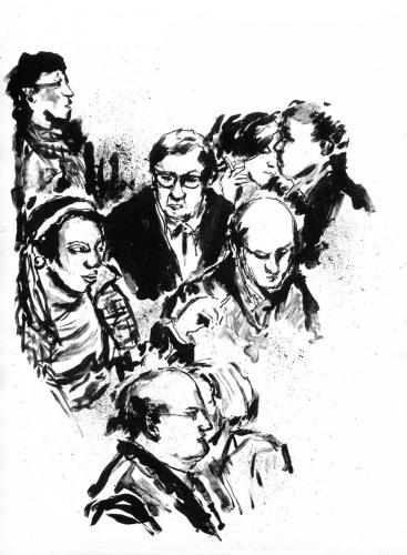 Passants - groupe