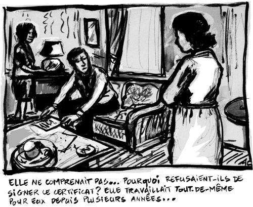"""Régularisations des """"sans papiers"""""""