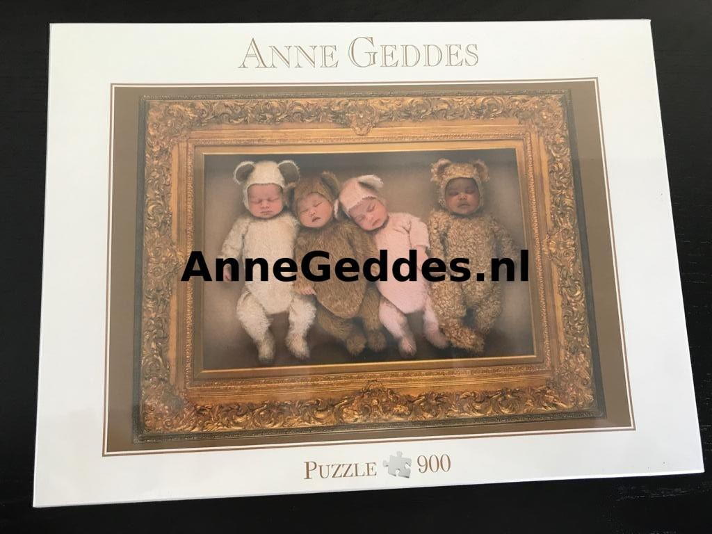 57640 – Puzzel – Blatz – slapende baby's in berenpakjes – 900 stukjes