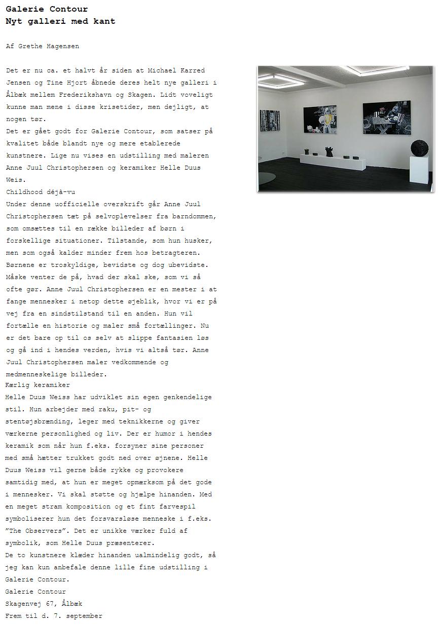Galerie Contour