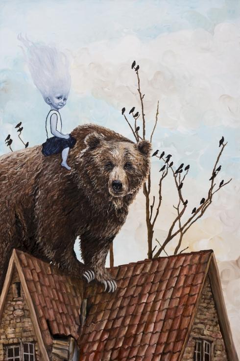 En bjørn på taget er bedre...