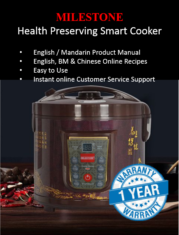 Milestone Health Preserving Smart Cooking