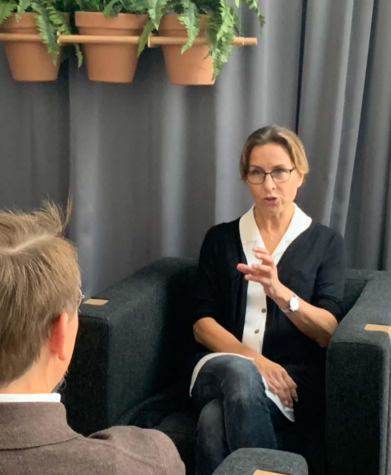 musician coach, Annika Fredriksson