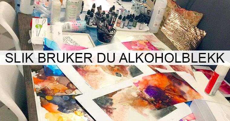Alkoholblekk – hva, hvordan, hvorfor? Lær deg teknikken og skap unike kunstverk!