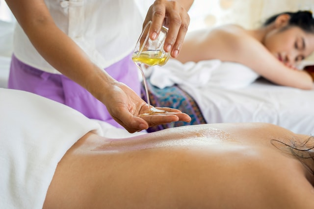 Onstpannende massage