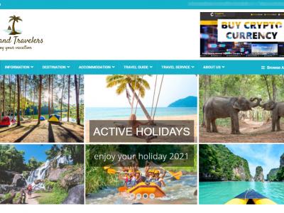 Webseiten fuer Online Reise Magazine & Reiseveranstalter