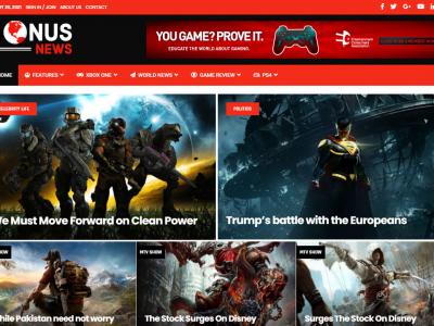 Webseiten fuer Spiele Magazine & Entwickler