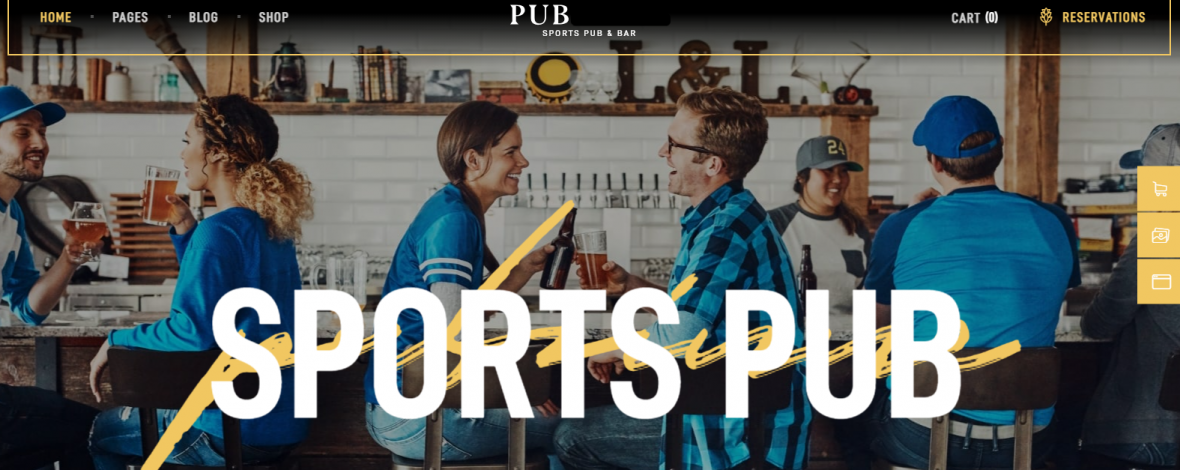 Webseiten fuer Bars Kneipen Restaurants