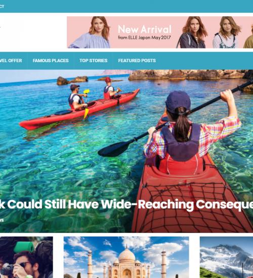 Webseiten fuer Travel Blogger Magazine