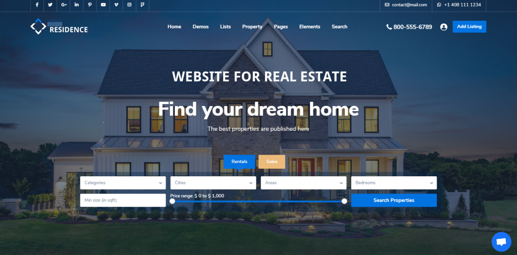 Webseiten fuer Immobilienbueros Immobilienmakler