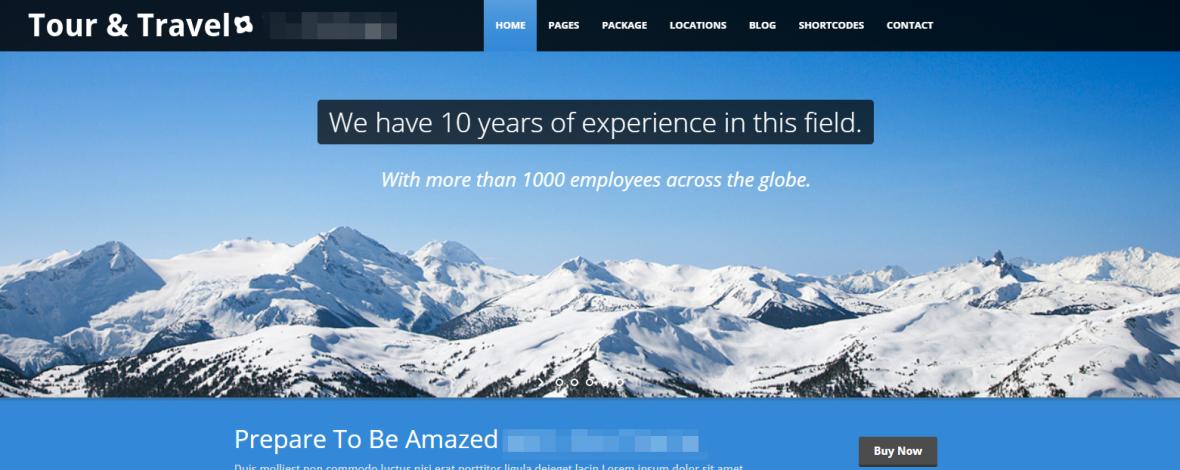 Webseiten fuer Reisebueros Reiseveranstalter