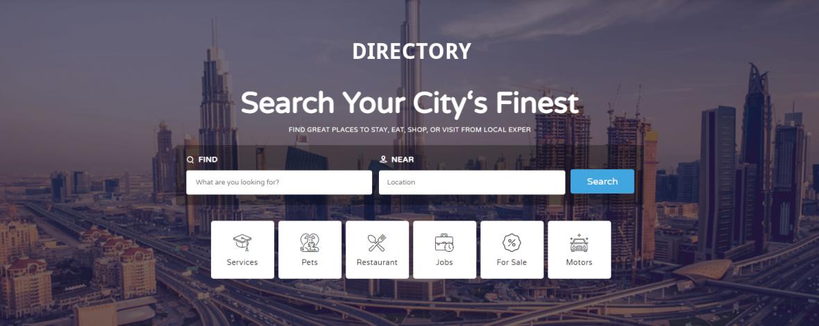 Webseiten fuer Stadtverzeichnisse Staedte und Gemeinden