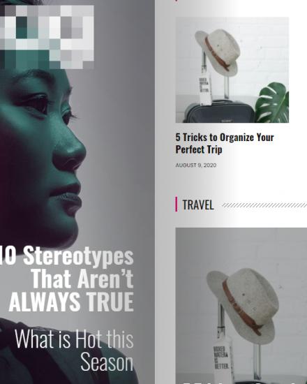 Webseiten fuer Magazine Zeitschriften Blogger