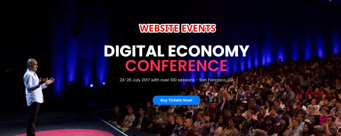 Webseiten fuer Events und Konferenzen